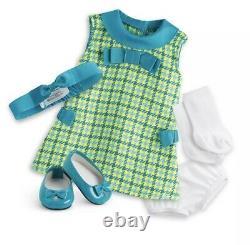 Xmas Bundle! American Girl 18 MELODY Doll & Xmas Dress! New