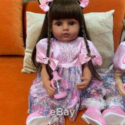 Zero Pam Reborn Baby Dolls Realistic Lifelike Toddler Black Girls Dolls Ages 3+